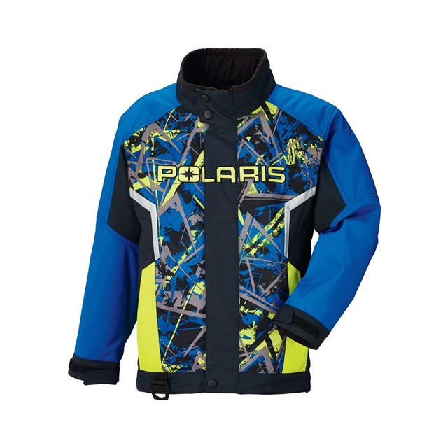 Blue Snowmobile Jacket