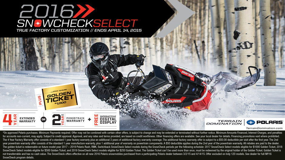 Babbitt S Has The Lowest Price Guarantee For 2016 Snow Check Offers